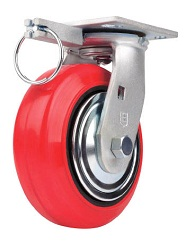 Caster For High Load Weight Use (Moisture-Resistant Urethane Wheels), Independent