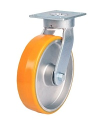 Heat Resistant Caster For High Load Weight Use (Maintenance-Free Urethane Wheels), Independent