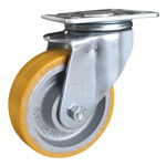 Heavy Load Casters with Drum Brakes, LH (Blickle)