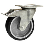 Caster with Heat Resistant Wheels, LIX Series (Blickle)