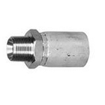 Hose Ferrule (SUS), SSR-01, Tapered Male Screw for Piping