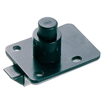 Plastic Push Button Latch, C-215
