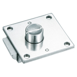 Stainless Steel Square Push Button Lock, C-1079