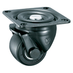 Low-Profile Swivel Caster For Ultra-Heavy Loads (Without Stopper) K-610J