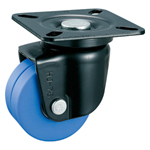 Low Floor Type for Heavy Load, Swivel Caster Without Stopper (Dual-Wheel Type) K-508-W