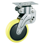 Stainless Steel Freely Swiveling Caster with Shock Absorber, without Stopper, K-1560G