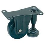 Rigid Caster With Leveling Mount (Without Stopper) K-600AF