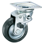 Large-Type Pressed Swivel Caster (With Stopper) K-52S