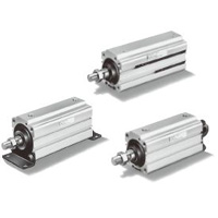 Thin Pneumatic Cylinder / Long Stroke Compatible / 10S-5 Series