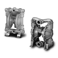 Air pressure driven diaphragm pump / metal bracket type TD2 series