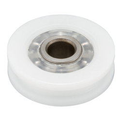 Bearings with Resin, DH (Grooved Outer Wheel Type)