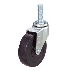Screw-in Caster, Freely Rotating, Long Screw