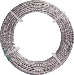 Stainless wire rope (nylon-coated type)