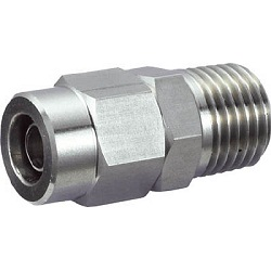Stainless Steel Fitting Male Connectors