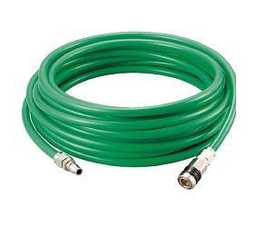 Polyurethane Triple Piping Hose That Prevents Sputtering
