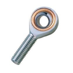 TRUSCO rod end oil free male screw