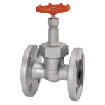 16 K Type - Ductile Cast-Iron Flanged Gate Valve <Union Bonnet Type>