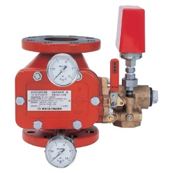 Wet Type water Flow Detecting Device Automatic warning Valve
