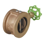10 K Type - Lead-Free Bronze Wafer Type Wing Check Valve (Water Absorption Type)