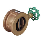 10K Type - Made of Lead Free Copper Alloy/Bronze - Winged Check Valve