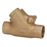 125H Type, Bronze Solder Type Swing Check Valve