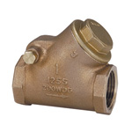 125H Model Bronze Screw-in Type Swing Check Valve