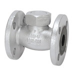 16K Type Ductile Cast-Iron Flanged Lift Check Valve <Union  Bonnet Type>