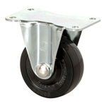 Standard Class 600B Fixed Type, Roller Bearings Included, Synthetic Rubber Wheel (Packing Caster)