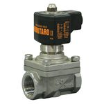 PS-25 Type Solenoid Valve (for Steam, Liquids and Air) Stainless Steel Momotaro II