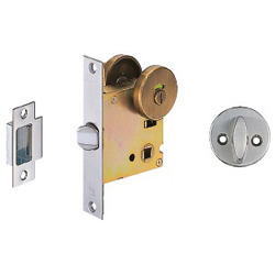 Lever Handle Display / Partition Lock, Back Set 51 mm