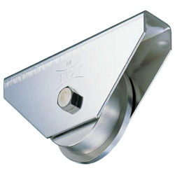 Stainless Steel Heavy-Duty Door Roller with 440C Bearings, Caster