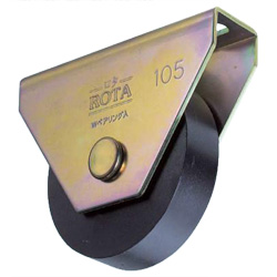 Rotor/Iron Door Roller for Heavy Loads Flat Type