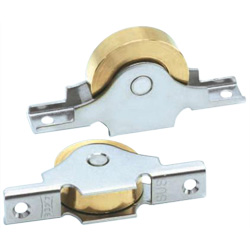 Brass Door Roller with 440C Bearings Door Roller Flat Sleeve
