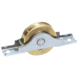 Brass Door Roller with Bearings Door Roller Round/Flat