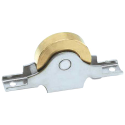 Brass Door Roller with Bearings Door Roller Flat Sleeve
