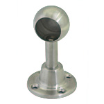 Stainless Steel Head Handrail Bracket (Stop)