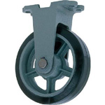 Fixed Rubber Wheels for Heavy Load (HB-k) - FCD Ductile Fitting