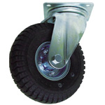 Swivel Caster with Pneumatic Tire