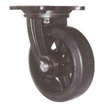 Swivel Caster with Heavy-Load, Port-Use Rubber Wheel (MHA-mg)