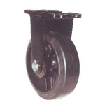 Fixed Caster with Heavy-Load, Port-Use Rubber Wheel (MHA-mk)