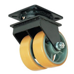 Two Wheel Caster Free Wheel for Ultra Heavy Load (UHBW-g Type/MCW-g Type)