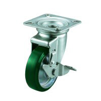 J-S Model Swivel Wheel Plate Type (With Stopper)