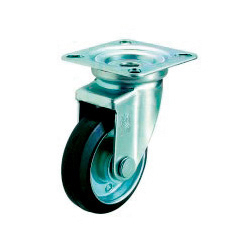 J Model Swivel Wheel Plate Type