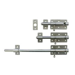 Stainless Steel, Reinforced Slide Bolt