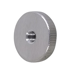 Stainless Steel Knurled Nut Flat Type