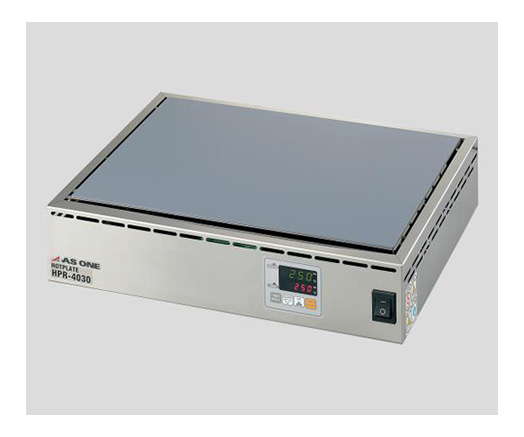Utilizes a manual reset type bimetal for overheat prevention. Stable temperature control is possible with the PID control, allowing for heating up to a desired configured temperature. Has a timer with a device shutdown function for up to 99 hours, 59 minutes at 1‑minute increments, and allows for 3 types of timer operations.