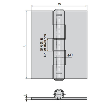 Butt Hinge For Heavy Loads B-1: related images