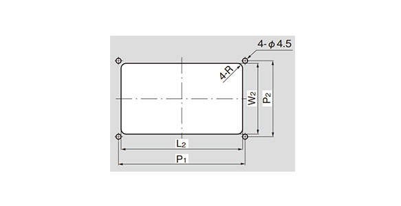 A-87 panel hole drilling dimensions